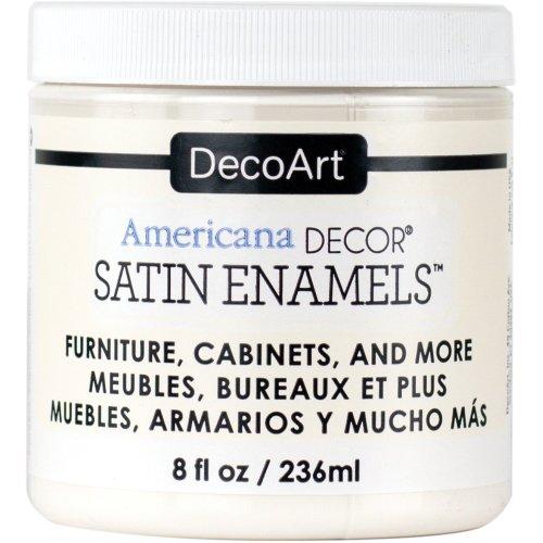 Americana Decor Satin Enamels 8oz-Warm White
