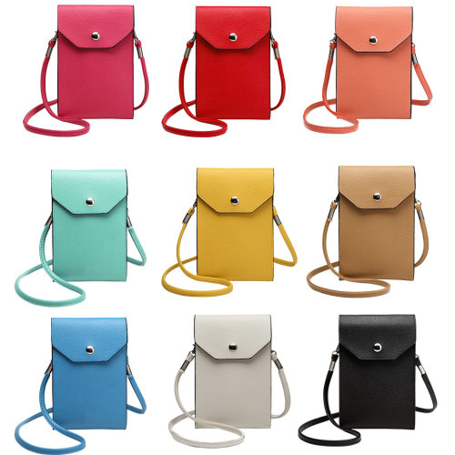 Miss Lulu Women PU Leather Mobile Phone Bag Case Pouch Cross Body Purse Small Shoulder Bag