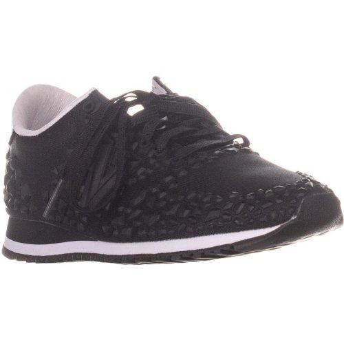 New Balance WL420DFX Lace Up Sneakers, Black, 3 UK