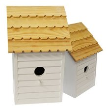 The Grafham Bird House for Wild Birds