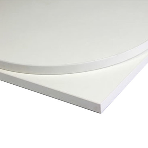 Taybon Laminate Table Top - White Round - 1000mm