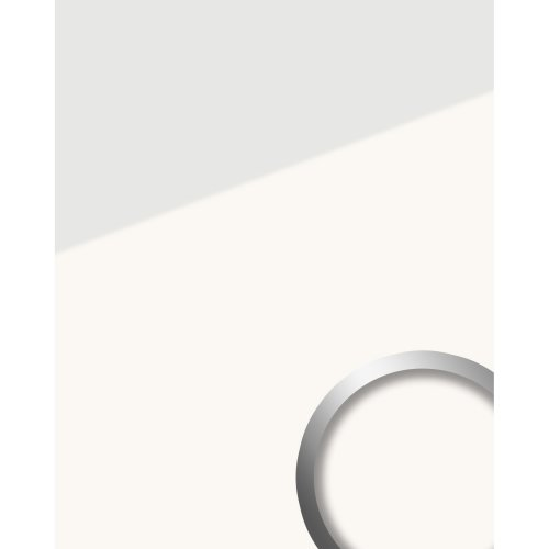 WallFace 17941 ICE WHITE adhesive wall panel glass look white 2.6 sqm