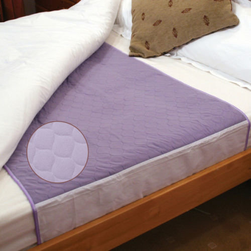 WASHABLE ABSORBENT BED PAD, INCONTINENCE BED PROTECTION