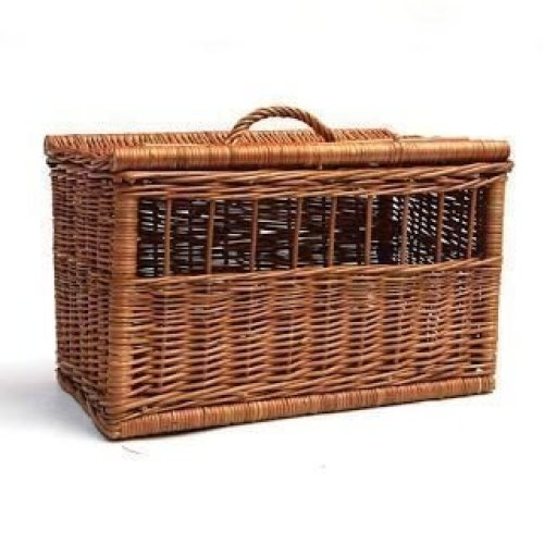 Rectangular Pet Carrier Basket Medium