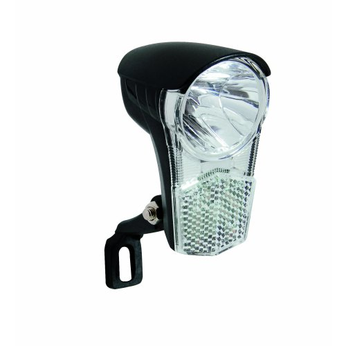 Büchel 50170 Bicycle Headlight Black LED 10 Lux with Switch