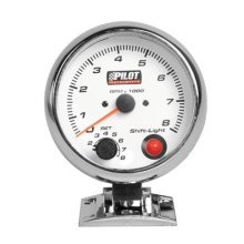 Pilot LA_10008 Rev Counter 0-8000 U/min for 3 4 and 6 Cylinders