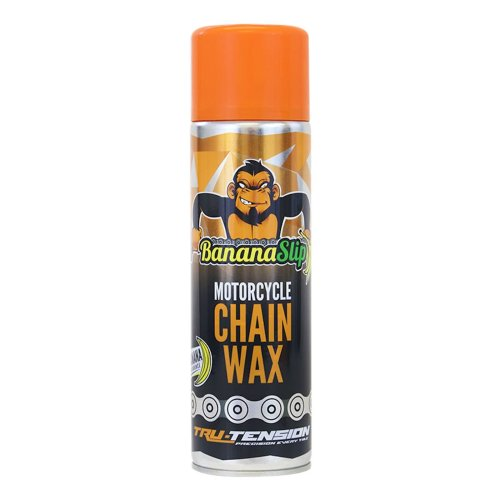 Tru-Tension BananaSlip Motorcycle Chain Wax 500ml - UK Mainland only.