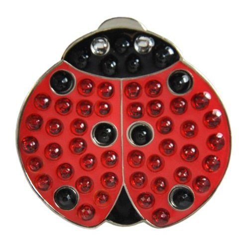Navika Lady Luck Swarovski Crystal Ball Marker with Hat Clip