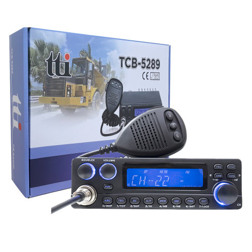 CB Radio TTI TCB-5289  by Anytone designed for communication at long distances between cars -