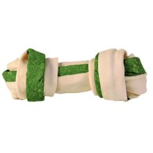 Denta Fun Knotted Chewing Bone, Spirulina Algae, 16 Cm, 110 G - Trixie Bone -  trixie denta fun knotted chewing bone spirulina algae dog 110 pack