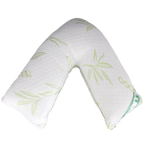 Luxury V- Shaped Bamboo memory foam pillow