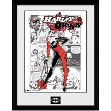 Batman Comic Harley Quinn Comic Collector Print