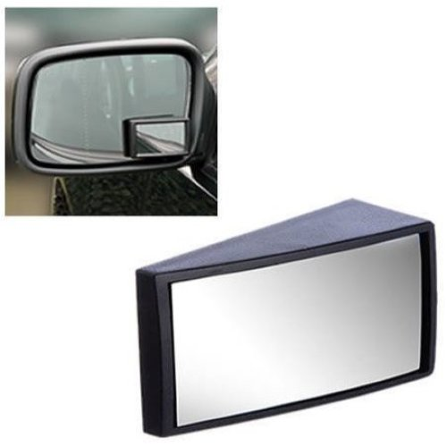 2 x Self Adhesive Wide Angle Car Van Blind Spot Wing Mirror Wider Design