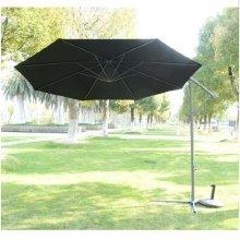 Outsunny 3m Garden Parasol Banana Umbrella Cantilever
