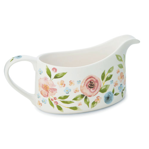 Cooksmart Country Floral Gravy Boat