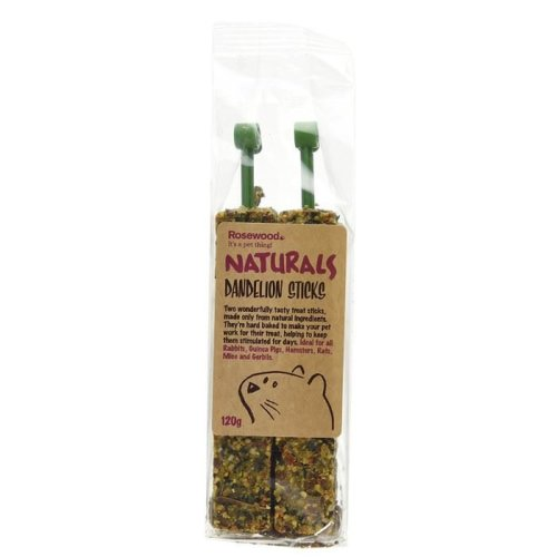 Rosewood Naturals Dandelion Sticks Treat 120g