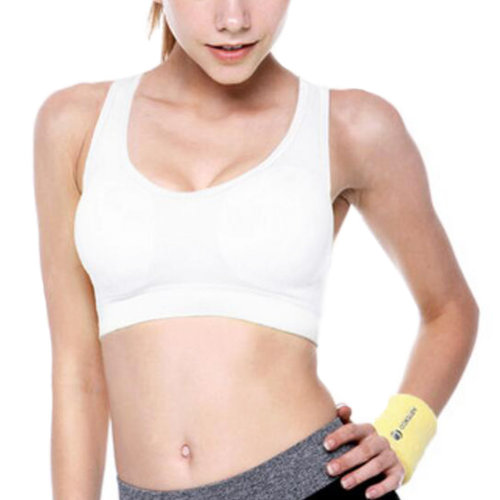 Sports Bra Running Fitness Vest Yoga Bra Women's Activewear-White