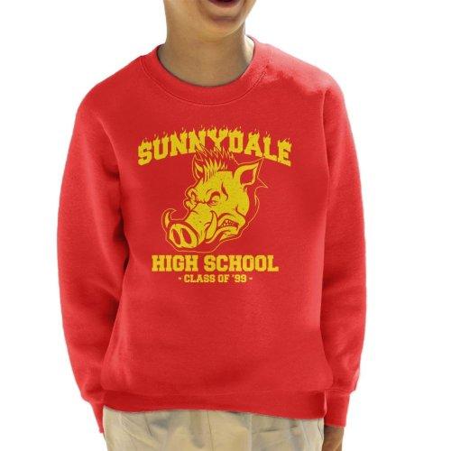 Buffy Inspired Sunnydale High School Kid's Sweatshirt