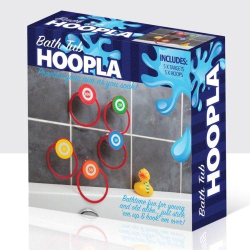 Bathtime Hoopla Game Set - Bath Tub Throwing Fun Kids Adults -  bath hoopla tub game throwing fun kids adults