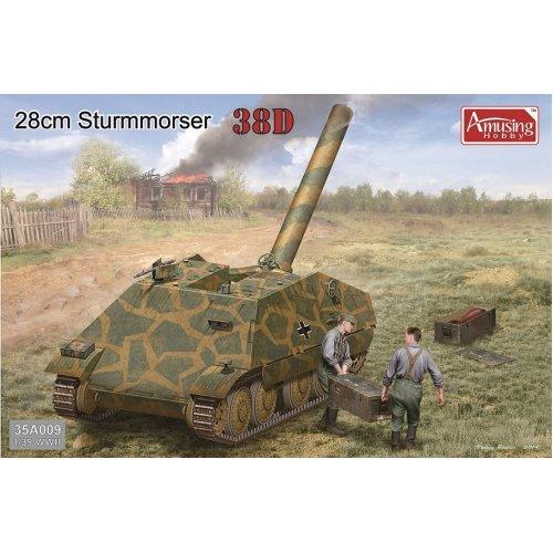 1:35 28cm Sturmmörser 38D Military Model Kit