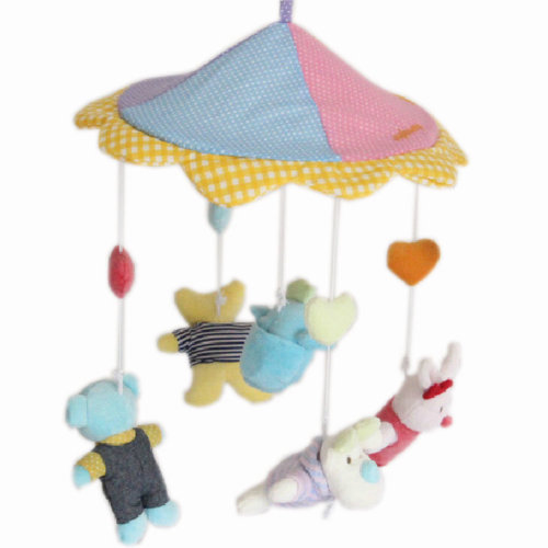 Toddle Bed Decor Infant Dreams Baby Cribs Mobile Music Take Along SwingsColorful