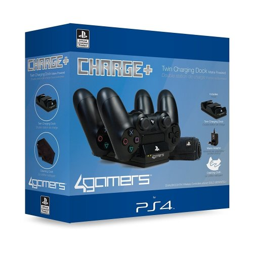 4Gamers Twin Charging Dock For PS4