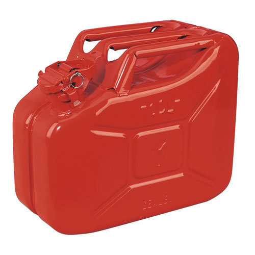 Sealey JC10 10ltr Jerry Can - Red