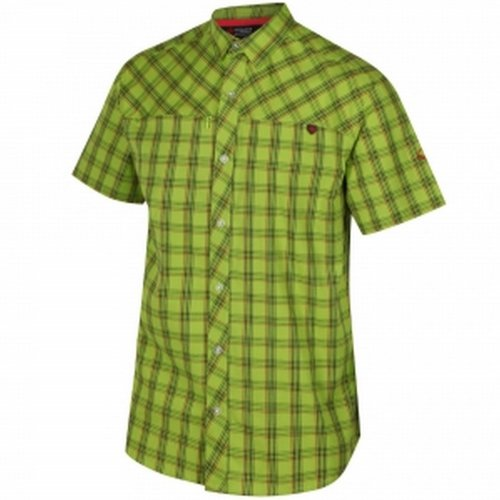 Regatta Mens Honshu III Checked Short Sleeved Shirt
