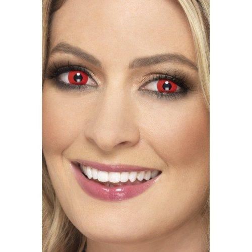 Accessoreyes Devil, Red, 1 Day Wear - Devil -  devil