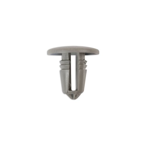 Button Clip Retainer Grey Ford - Pack of 50
