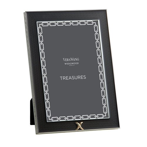 Vera Wang by Wedgwood – Silver Plated With Love Treasures Noir X 4 x 6 Photo Frame