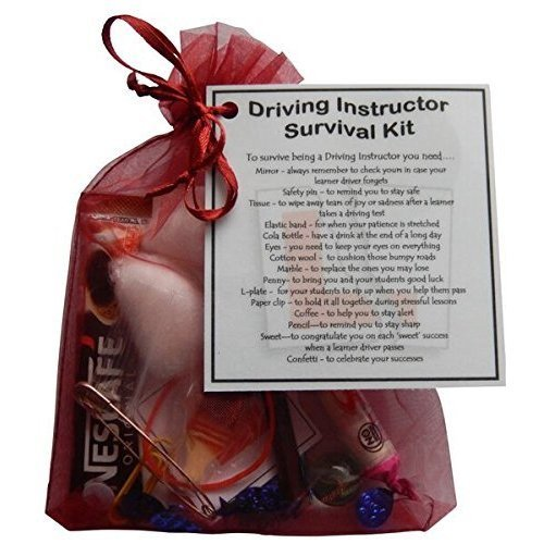 Driving Instructor Survival kit - Great small gift for a driving instructor