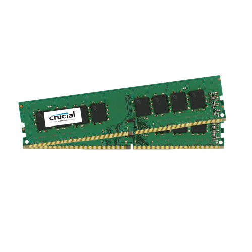 Crucial 16 GB, 2666 MHz, DDR4 16GB DDR4 2666MHz memory module