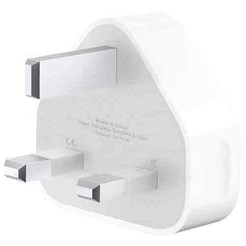 UK Mains Plug To USB Charger