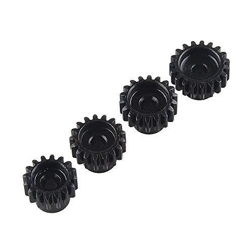 4 Pcs Sprockets 18T 19T 20T 21T 48DP 3,175mm Shaft Gear Module Pinion for Brushless Motor 1:10 1/10 RC Monster / Buggy / Truck