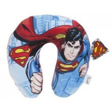 U-neck Travel Cushion 32cm Kids Superman Printed Cushion -  cushion superman uneck travel pillow official dc comics gift 32cm kids printed