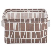Desktop Organizer Bag Storage Box Folding Storage Basket #23