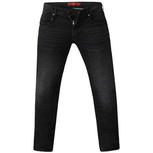 Duke Mens Benson King Size Tapered Fit Stretch Jeans