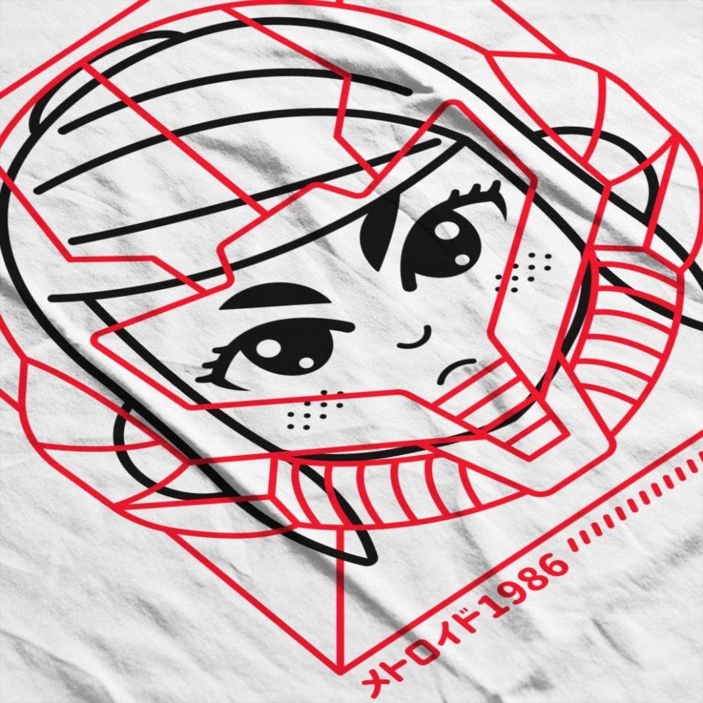 c7692f3f9 ... Cyber Helmet Metoroid Men's Baseball Long Sleeved T-Shirt - 4. >