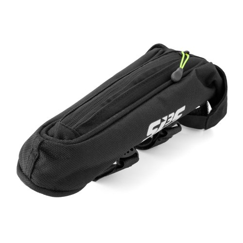 SLS3 Small Aero Bike Bag Top Tube Bicycle Frame Bag | Adjustable Straps | Stable And Secure | Low Profile Stem Bag