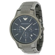 Emporio Armani Stainless Steel Chronograph Mens Watch AR2505