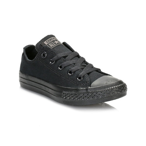 Converse Kids Black Monochrome All Star Low Trainers