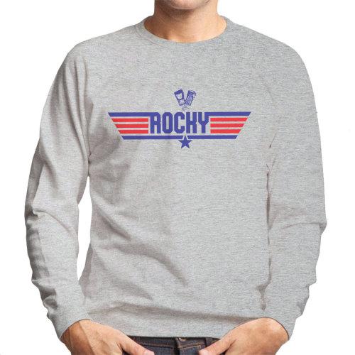 Top Gun Logo Rocky Balboa Men's Sweatshirt