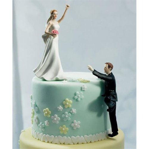 Weddingstar 7094 Victorious Bride Mix & Match Cake Topper- Bride Only