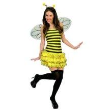 Adult's Bee Fancy Dress Accessory Set - bee wings antenna