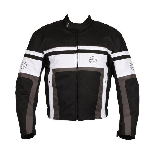 Buffalo Retro Black Motorcycle Jacket