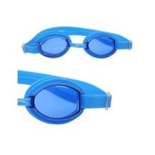 Adult Size Blue Swimming Goggles - Aqua Swimtech -  aqua goggles swimtech swimming blue adult