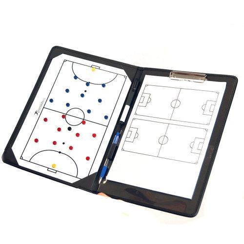 Precision Training Football Pro Futsal Coaches Tactic Folder Clipboard