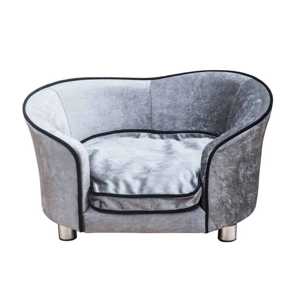 PawHut Plush Dog Couch