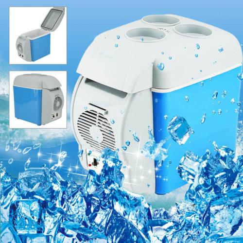 7.5L 12V Truck Refrigerator Cooler Warmer Car Freezer Fridge Travel Camping UK